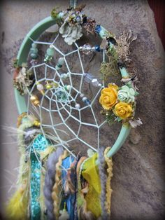 SALE Bohemian Dreamcatcher Romantic Woodland Fairy