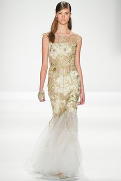 Badgley Mischka Fall Winter 2014-2015 #FW14 #NYFW