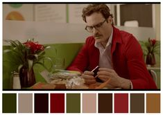 art theater theater art # meet ones Palette Pantone, Pantone Color, Movie Color Palette, Colour Palettes, Film Composition, Cinema Colours, Color In Film, Damien Chazelle, Color Palettes