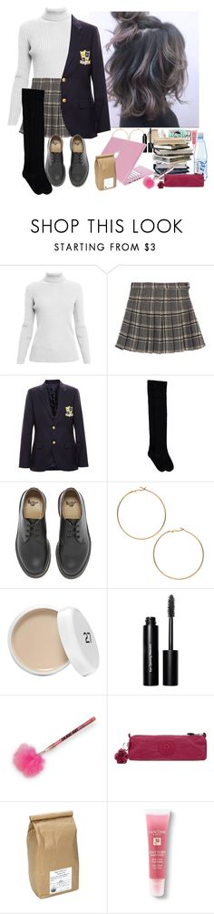 """""""Sem título #798"""" by jubs-is-here ❤ liked on Polyvore featuring Rumour London, Enfants Riches Déprimés, Dr. Martens, Bobbi Brown Cosmetics, Kipling, Davidson's and Lancôme"""