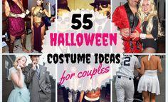 55 Halloween Costume Ideas for Couples # Ideas - Couples Costumes Unique Couple Halloween Costumes, Best Couples Costumes, Easy Costumes, Family Costumes, Halloween Kostüm, Halloween Outfits, Adult Costumes, Halloween Makeup, Costume Ideas