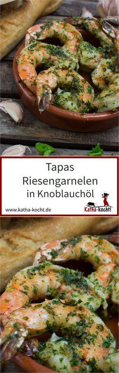 - king prawns in garlic oil - Katha cooks! Tapas - king prawns in garlic oil - Katha cooks!,Tapas - king prawns in garlic oil - Katha cooks! Grilled Shrimp Recipes, Shrimp Recipes Easy, Spicy Garlic Shrimp, Salmon Recipes, Lunch Recipes, Seafood Recipes, Cooking Recipes, Garlic Prawns, Seafood Appetizers