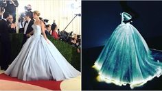 Claire Danes Wore An Incredible Light-Up Ball Gown To The Met Gala