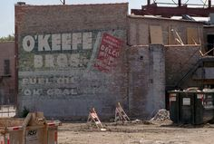 o'keefe bros. ghost sign chicago