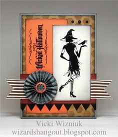 Close to My Heart - Wicked Halloween Halloween Projects, Halloween Cards, Fall Halloween, Halloween Ideas, Fall Cards, Holiday Cards, Pop Up, Thanksgiving Cards, Card Sketches