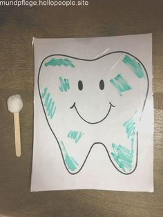 The topic of this week was dental health. I talked about all the stupid stuff th