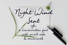 Night Wind Sent | dafont.com