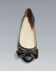 BALLERINA WITH BOW - Shoes - Woman - ZARA