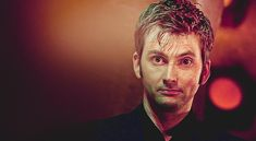 Here's to a better day! | Make Your Day Better In 64Seconds- yes the video did make me feel better, but the gif of David Tennant made me feel great!