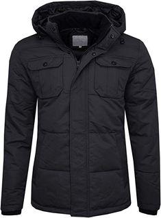 4bcc648bd8a3 JACK   JONES Herren Jacke Jcowill Jacket Schwarz (Black   Regular Fit)  Large (