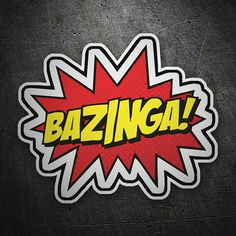 Pegatinas: Bazinga The Big Bang Theory #bazinga #surf #pegatina #sticker