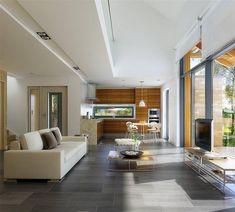 Zdjęcie projektu Z Widokiem WAW1066 Loft House, Conference Room, Barn, Stairs, Table, Furniture, Home Decor, Houses, Mezzanine