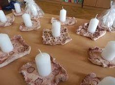 Výsledek obrázku pro tvoření z keramické hlíny Pillar Candles, Tea Lights, Christmas, Xmas, Tea Light Candles, Navidad, Noel, Natal, Candles