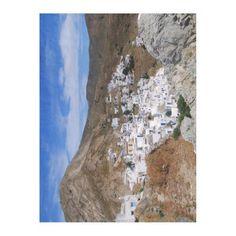 Serifos town – Serifos Fleece Blanket