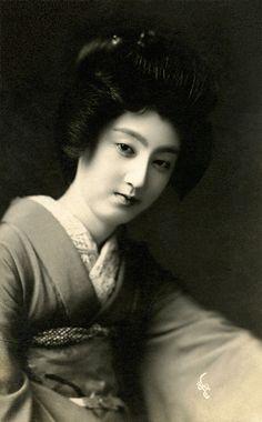 Japan. Geisha Sakae 1910s