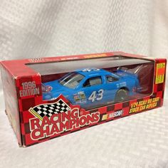 Racing Champions 43 STP Bobby Hamilton 1:24 NASCAR Diecast 1996 Mancave #RacingChampions #Pontiac