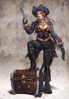 ArtStation - Character Designs Batch, Hector Moran (HEC)