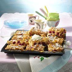 Kirschkuchen mit Cornflakes-Kruste Rezept   LECKER