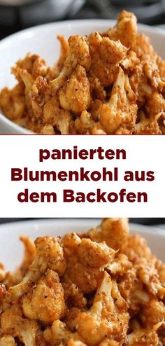 breaded cauliflower from the oven - Dailyumy- panierten Blumenkohl aus dem Backofen – Dailyumy breaded cauliflower from the oven - Easy Smoothie Recipes, Easy Smoothies, Good Healthy Recipes, Snack Recipes, Vegan Recipes, Easy Snacks, Healthy Snacks, Easy Meals, Cauliflower Bread