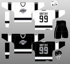 Los Angeles Kings 1992-95 - The (unofficial) NHL Uniform Database Los  Angeles 39c3d4d90