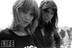 Heart- Ann and Nancy Wilson. The most rocking women of all time