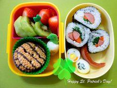Bento #19: St. Patrick's Day