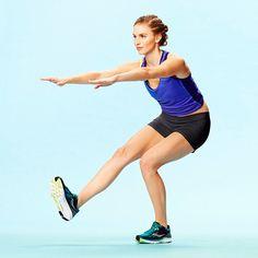 Cross-Training Exercises for Runners: Single-Leg Touchdown