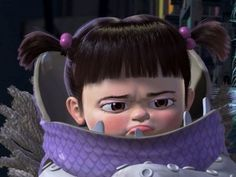 """Which Pixar Girl Are You? Quiz - You are Boo from """"Monsters Inc.""""! Playful and loving but who would want to get on your bad side? When your angry you can put everyone in a bad mood. Much like a child at times you are innocent and don't really get mad easily...but it's when someone does make you angry that we better all run."""