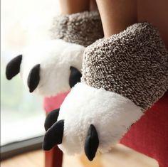 Novo inverno quente de pelúcia de alta top homens mulheres chinelos de algodão pata cor feitiço sapatos fechados não - deslizamento fundo macio chinelos piso casa