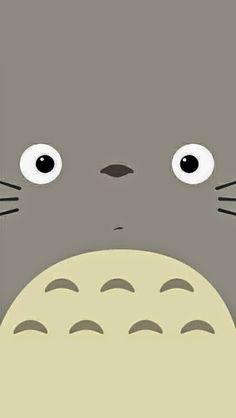 Totoro 宮崎駿, 携帯電話のクールな壁紙, かわいい壁紙, Iphone の