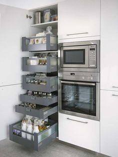 Una buena idea para tener la cocina ordenada: #kitchendesign