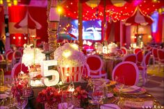 All the details : @luvroxphotography with @sarareneeevents @jwmarriottmarquismiami #alwaysflowersevents #event #decor #batmitzvah #circus #theme #underthebigtop