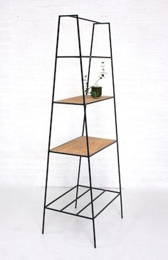 Stylish Shelving: 'A' Room Divider by andNew. www.andnew.co.uk #steelfurniture #madeinuk #cork