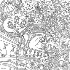 Magical Garden Coloring Book Unique the Magical City A Colouring Book Lizzie Mary Cullen Adult Coloring Book Pages, Animal Coloring Pages, Colouring Pages, Coloring Books, Colour Architecture, Relaxing Art, Colouring Techniques, Magical Christmas, Colorful Garden