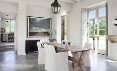 Farmhouse Style: Modern French Farmhouse {Eleanor Cummings} BM Intense White Paint