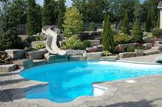 Everything you need to know about selecting and installing a backyard pool via @eieihome
