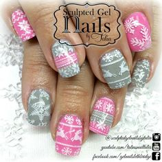 Sculptured gel nails by Talia