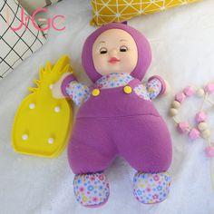 Kawaii Cute anime plush cartoon toys stuffed dolls 40 cm baby born sleeping doll toys for children Birthday Christmas Gift URGE
