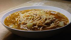 Sopa de Fideo | Hispanic Kitchen I used to cook this for my kids when they were growing up.