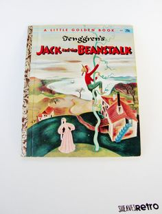 Jack and the beanstalk golden book