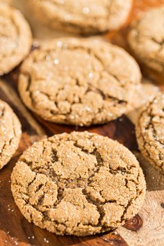Grandpa's Old Fashioned Molasses Ginger Cookies | Get Inspired Everyday!