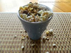 Skinny Sweets Daily: Healthy and Delicious Party Trail Mix