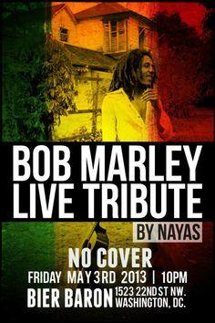 Bob Marley Tribute May 3