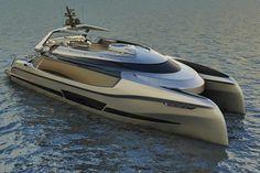 "Ego, un superyacht catamaran de ""luxe informel"""