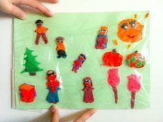 Play dough art