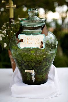 Morrocan mint tea.....perfect way to finish lunch , must be served in glasses and brewed in a silver morrocan tea pot