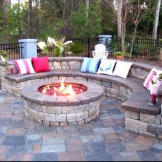 I wanna try to make this for our backyard.. If not, can do the firepit.. :)