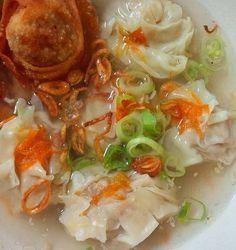 Siomay Kuah + Pangsit Goreng 1 adonan daging,simpel ^^