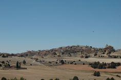 Vista de Torremocha de Ayllón desde el antiguo camino a Liceras.