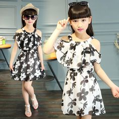 Find More Dresses Information about Baby Girls dresses summer 2016 clothes fashion plum blossom floral off shoulder party dress children clothing 2 13T kids clothes,High Quality Dresses from TAILORED on Aliexpress.com